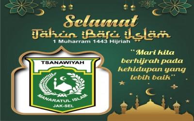SELAMAT TAHUN BARU ISLAM 1443 H.